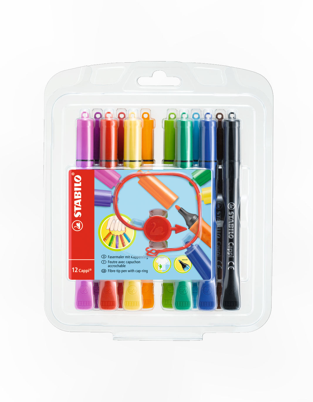 STABILO Cappi Fibre-tip Markers - Schwan-STABILO -Most colourful Stationery Shop