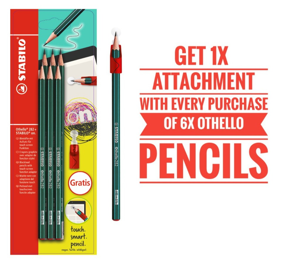 STABILO Othello 282+ Graphite pencil set of 6
