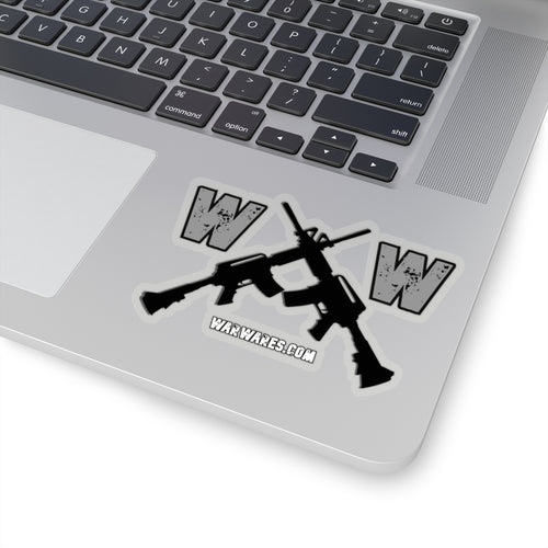 WarWares Logo Sticker - Warwares Military Shirts and More