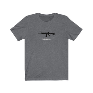 4 Fundamentals of Marksmanship - Short Sleeve Tee - Warwares Military Shirts and More