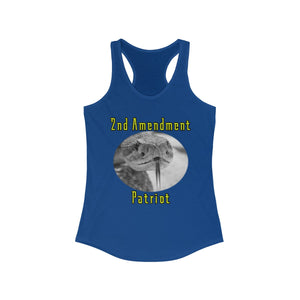 Women's 2nd Amendment Patriot Tank - Warwares Military Shirts and More