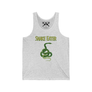 Snake Eater, Unisex Jersey Tank - Warwares Military Shirts and More