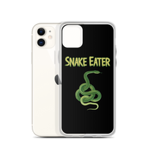 Load image into Gallery viewer, Snake Eater iPhone Case (iPhone 11 and previous versions) - Warwares Military Shirts and More