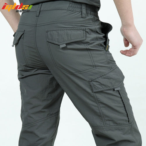 Quick Dry Casual Lightweight Cargo Pants for Men - Warwares Military Shirts and More