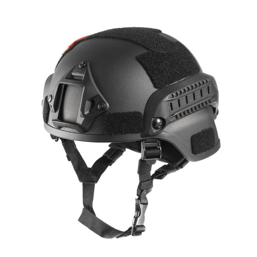 Special Ops style helmet with side rails, NVG mount, and velcro - Warwares Military Shirts and More