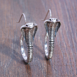 Cobra Earrings - Warwares Military Shirts and More