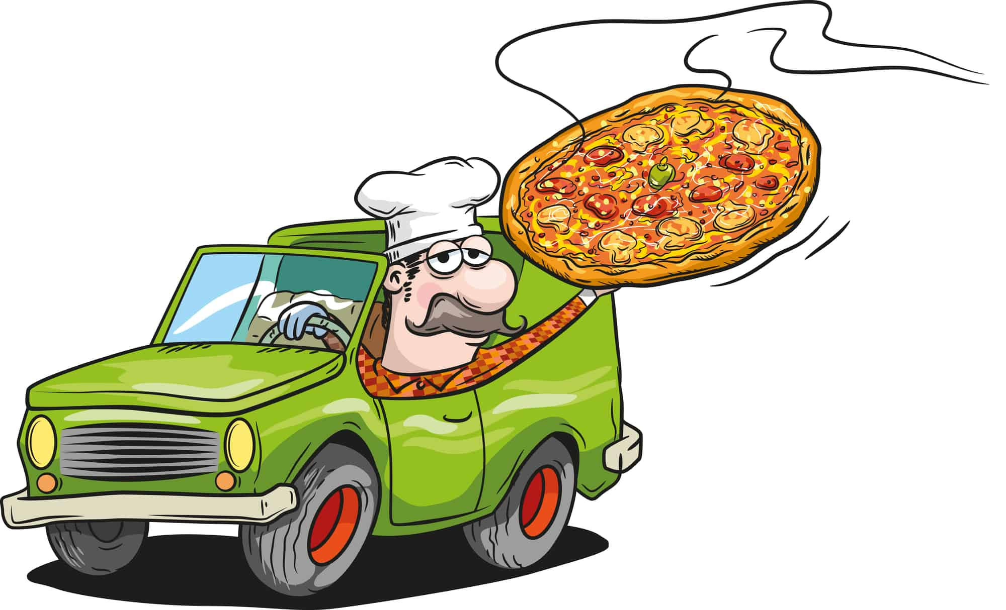 Mind-Blowing Facts About Pizza Delivery (U.S.)