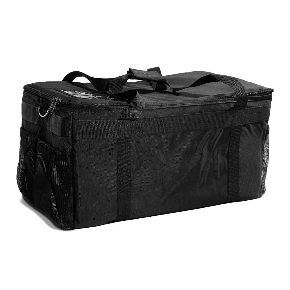 "Medium Bag with Silver Reflective Lining & Zipper Closure - 23""x13""x11"""