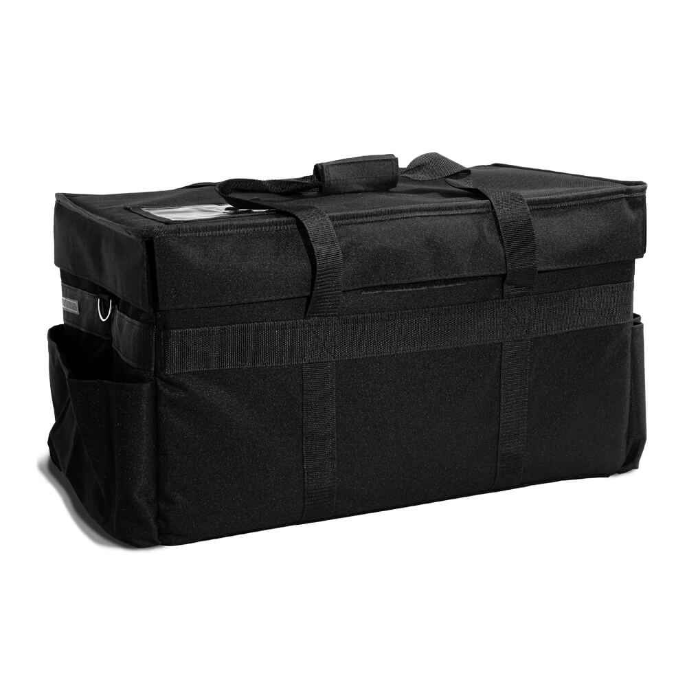 "Medium Insulated Hot/Cold Restaurant Delivery Bag - 23""x13""x12"""