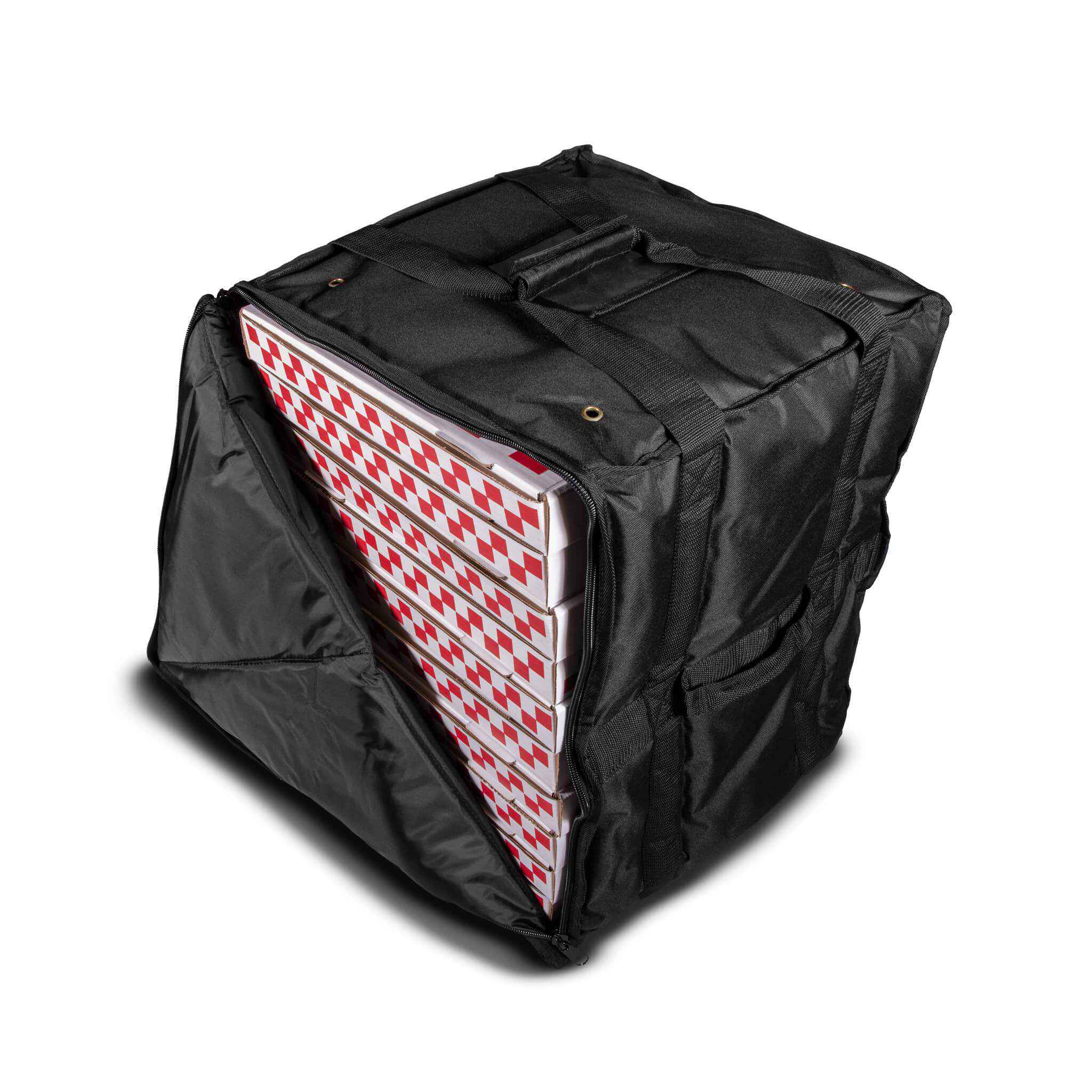 Large Party Size Hard-Sided Pizza Delivery Bag