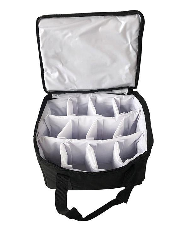Beverage Hot/Cold Insulated Delivery Bag holds 10 to 12 Cups