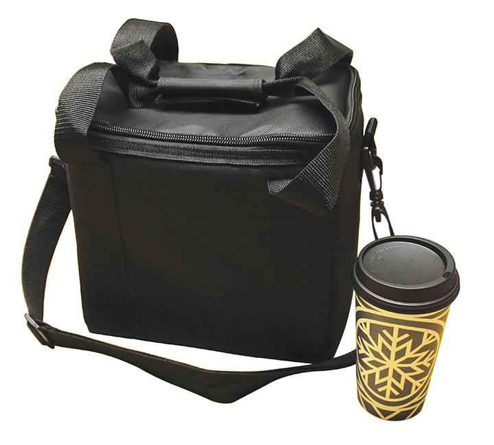 Beverage Hot/Cold Insulated Delivery Bag  holds 6 Cups