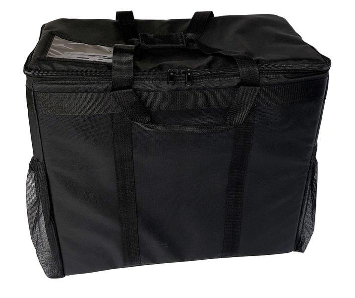"Large Hot/Cold Insulated Delivery Bag - 21""x11""x19"""
