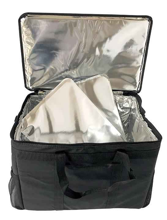 "Medium Utility Full Pan Catering Delivery Bag - 23""x14""x12.5"""