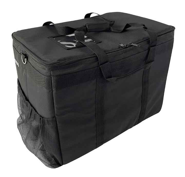 "Large Insulated Utility Delivery Bag with Removable Liner - 23""x14""x17"""