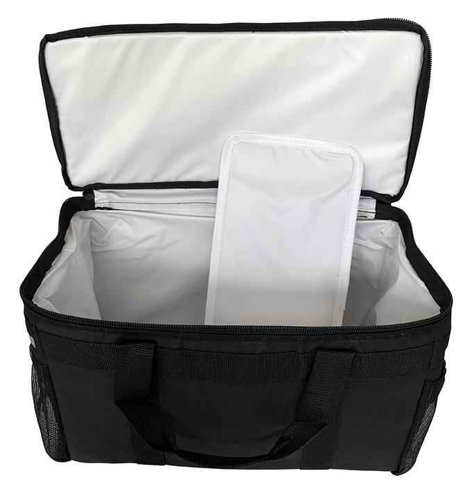 "Small Insulated Meals on Wheels Delivery Bag - 21""x11""x10"""