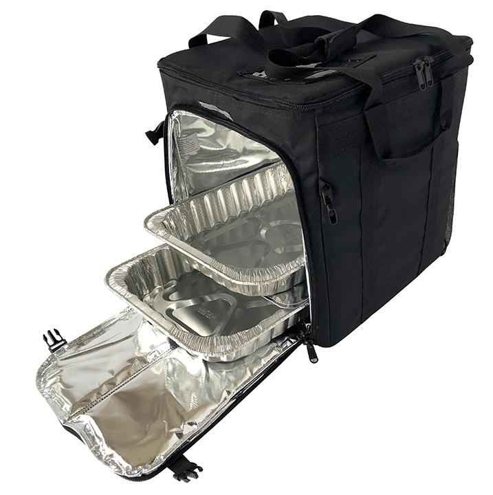 "Small Hot/Cold Half Pan Catering Delivery Bag - 14""x12""x15"""