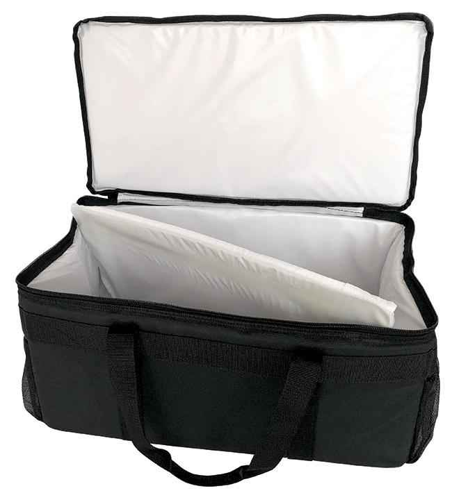"Small Bag with White Leak Proof Lining - 21""x11""x10"""