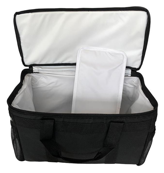 "Mini Insulated Hot/Cold Restaurant Delivery Bag - 17""x8""x10.5"""