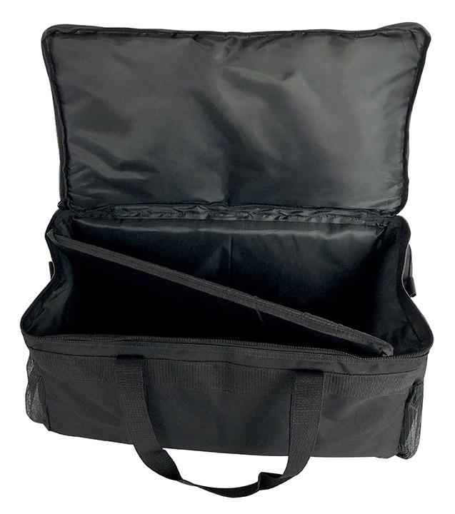 "Large Insulated Breathable Food Delivery Bag - 21""x11""x19"""