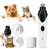 Rechargeable Ultra Quiet Electric Nail Grooming Trimmer Tool for Pets