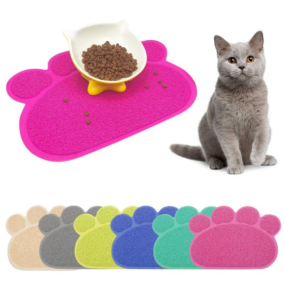 Paw-shaped Floor Mat