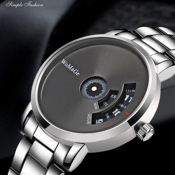 2019 WoMaGe Luxury Design Men's Wrist Watch