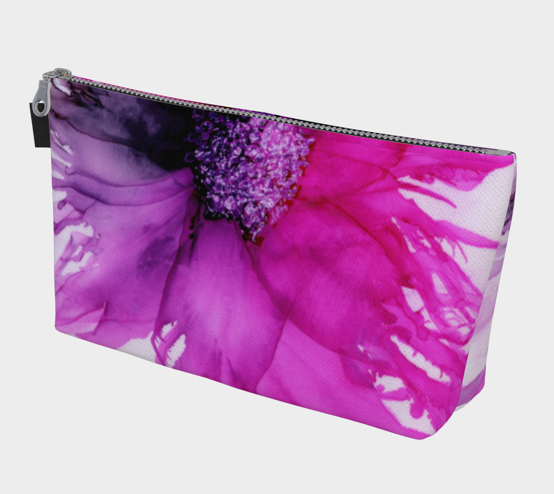 Makeup Bag:  Lady Magenta
