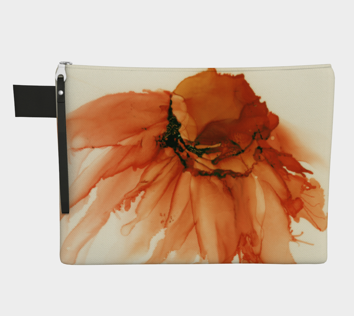 Clutch Purse:  Tangerine Tutu