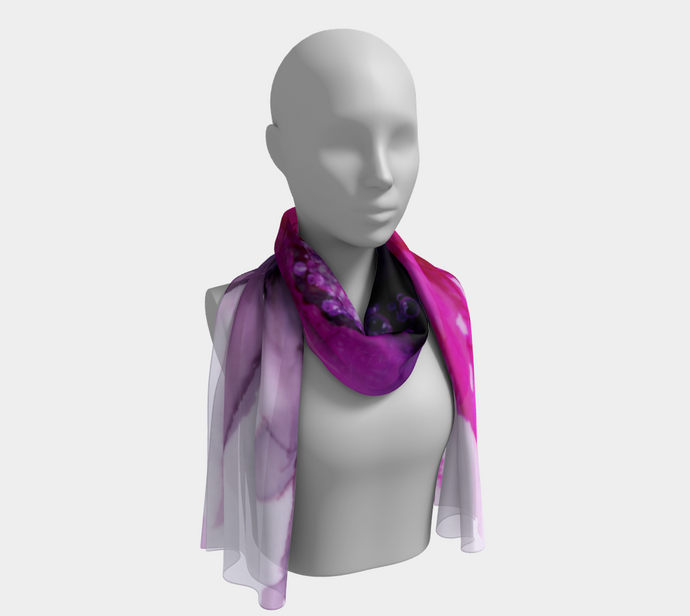Long Scarf:  Lady Magenta