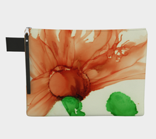 Load image into Gallery viewer, Clutch Purse:  Coral Crushed