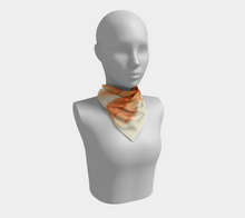 Load image into Gallery viewer, Square Scarf:  Tangerine Tutu