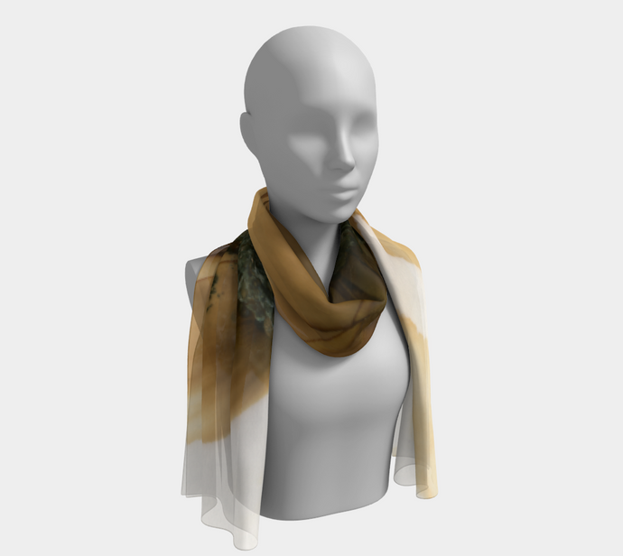 Long Scarf:  Gold Strike