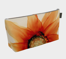 Load image into Gallery viewer, Makeup Bag:  Mandarin Orange