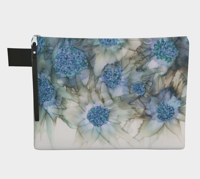 Clutch Purse:  Blue Rhapsody