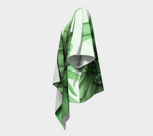 Load image into Gallery viewer, Draped Kimono:  Green Queen