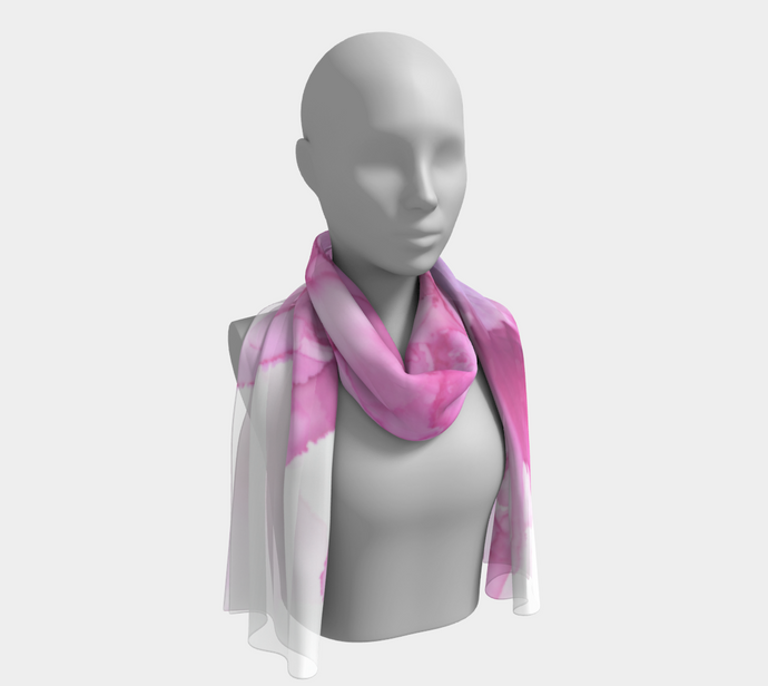 Long Scarf:  Pink Ladies