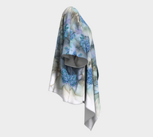 Load image into Gallery viewer, Draped Kimono:  Blue Rhapsody