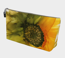 Load image into Gallery viewer, Makeup Bag:  September Sunflower
