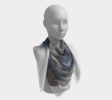 Load image into Gallery viewer, Square Scarf:  Bleu Hens
