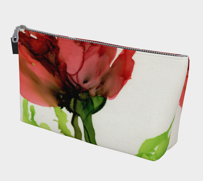 Makeup Bag:  Floppy Poppy