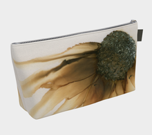 Load image into Gallery viewer, Makeup Bag:  Gold Strike