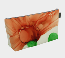 Load image into Gallery viewer, Makeup Bag:  Coral Crushed