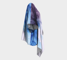 Load image into Gallery viewer, Draped Kimono:  Blue Moon