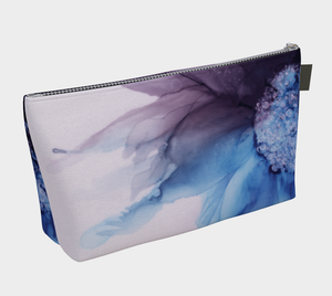 Makeup Bag:  Blue Moon
