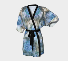 Load image into Gallery viewer, Kimono Robe:  Blue Rhapsody