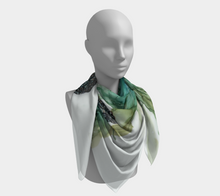 Load image into Gallery viewer, Square Scarf:  Three Sisters