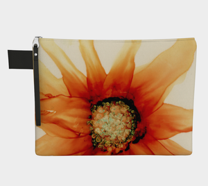 Clutch Purse:  Mandarin Orange