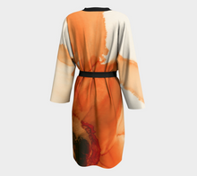 Load image into Gallery viewer, Peignoir:  Ophelia's Orange Orchid