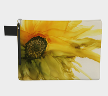 Load image into Gallery viewer, Clutch Purse:  September Sunflower